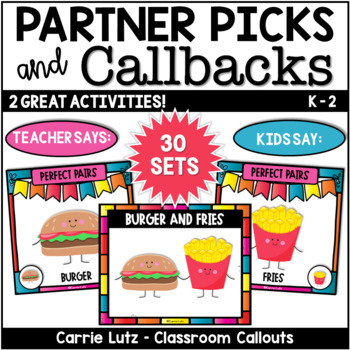 Partner Picks and Callbacks