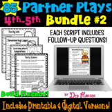 Fluency Practice: Partner Plays SET 2 Bundle for 4th and 5th (90 scripts)