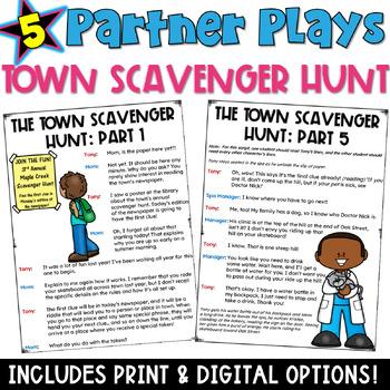 Partner Plays: A Town Scavenger Hunt