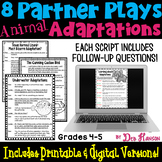 Animal Adaptations: 8 Partner Plays