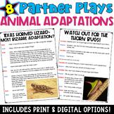 Animal Adaptations: 8 Partner Plays