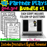Fluency Practice: Partner Plays Bundle for 2nd and 3rd  SET 1 (90 scripts)
