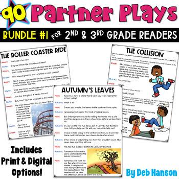 Fluency Practice: Partner Plays Bundle for 2nd and 3rd  SE