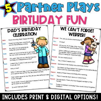 Partner Plays: Birthday Bash