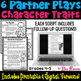 Character Traits Partner Plays (4th and 5th grades)
