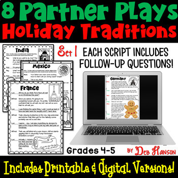 Christmas Partner Plays (4th and 5th grade)