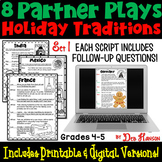 Holiday Traditions Around the World Partner Plays: Set 1 (4th and 5th grade)