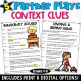 Context Clues Partner Plays
