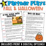 Partner Plays: Fall & Halloween