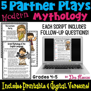 Partner Plays: Modern Day Mythology
