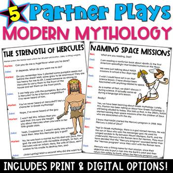 Partner Plays: Modern Day Mythology