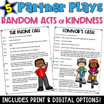Partner Plays: Random Acts of Kindness