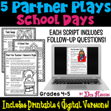 Back to School Partner Plays (4th and 5th grades)