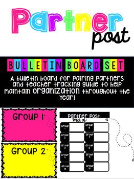 Partner Post Bulletin Board Set