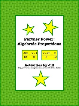 Partner Power: Algebraic Proportions