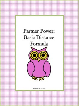 Partner Power: Basic Distance Formula
