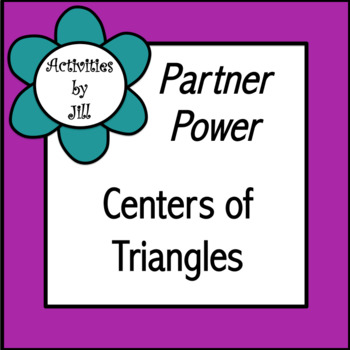 Partner Power: Centers of Triangles