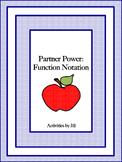 Partner Power: Function Notation