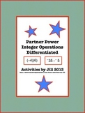 Partner Power: Integer Operations Differentiated