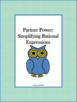 Partner Power: Simplifying Rational Expressions