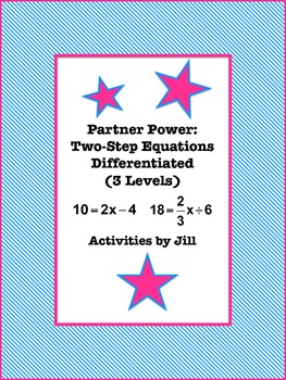 Partner Power: Two Step Equations Differentiated