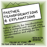 Transformations and Construction: Partner Practice