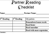 Partner Read Checklist