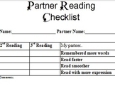 Partner Read Checklist