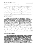 Partner Read - Industrial Revolution - Child Labor + Questions