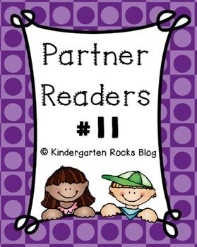 Partner Reader # 11 (Read to Someone)