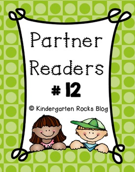 Partner Reader # 12 (Read to Someone)