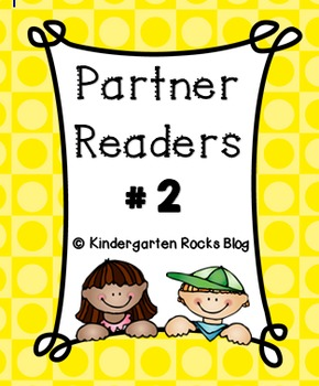 Partner Reader # 2 (Read to Someone)