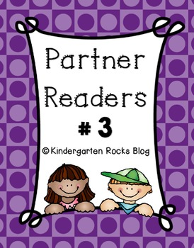 Partner Reader #3 (Read to Someone)