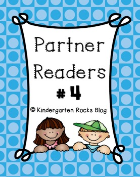 Partner Reader # 4 (Read to Someone)