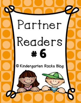 Partner Reader # 6 (Read to Someone)