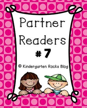 Partner Reader # 7 (Read to Someone)