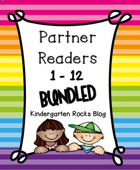 Partner Readers (1 - 12) Bundled (Read to Someone)
