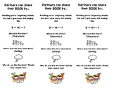 Partner Reading Bookmarks- Double Sided