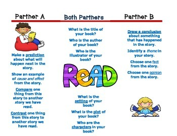Partner Reading Brochure - Daily Five