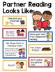 Partner Reading Bundle: Anchor Charts, Bookmarks & Rubric