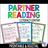 Partner Reading Cards (Non Fiction)