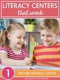 Partner Reading Center Activities for First Grade