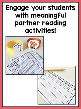 Partner Reading Center Activities for Second Grade
