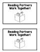 Partner Reading Choice Board