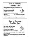 Partner Reading Coaching Card