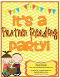 Partner Reading Comprehension Activity Pack  {Partner Reading Party!}