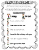 Partner Reading Passages & Comprehension Questions