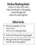 Partner Reading Goals and Procedures