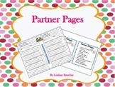 Partner Reading Pages