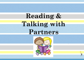 Partner Reading & Partner Talk Flipchart